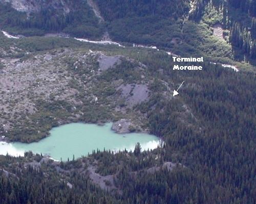 Terminal Moraine Below Emmons Glacier
